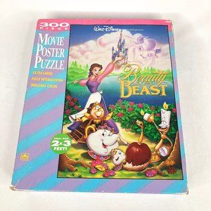 Vintage Beauty and The Beast 300 Piece Puzzle